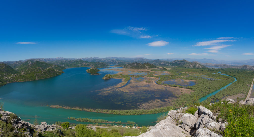 skadar lake islets