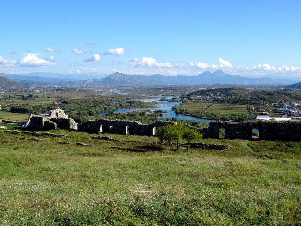 Skadar view on Bojana river