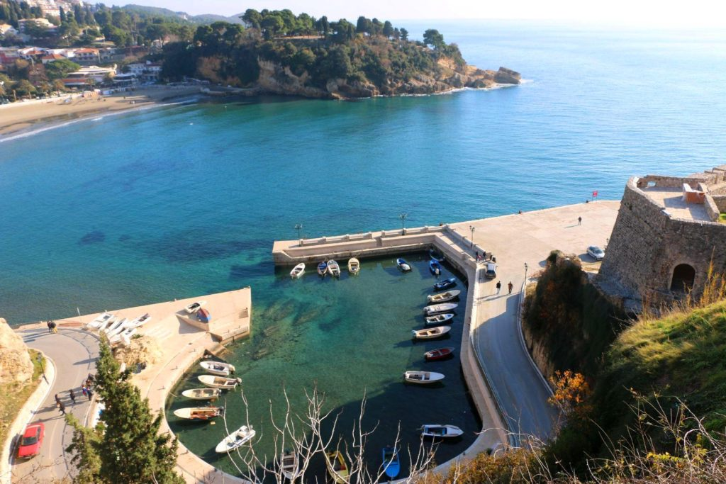 Small port in Ulcinj
