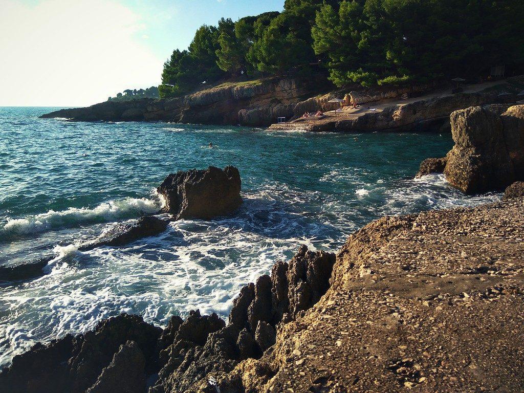stone beach ulcinj