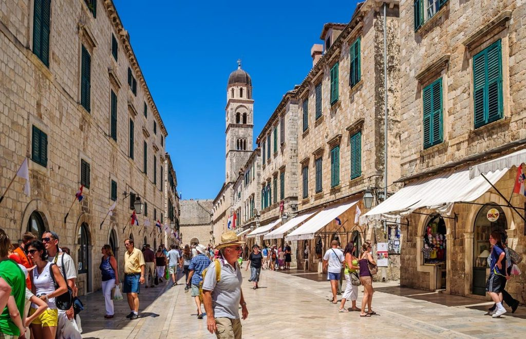 Stradun – the main street in Old Town Dubrovnik