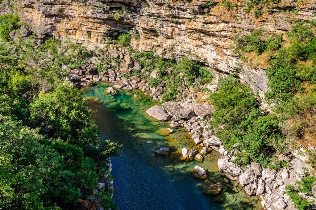 The Moraca River - Montenegro
