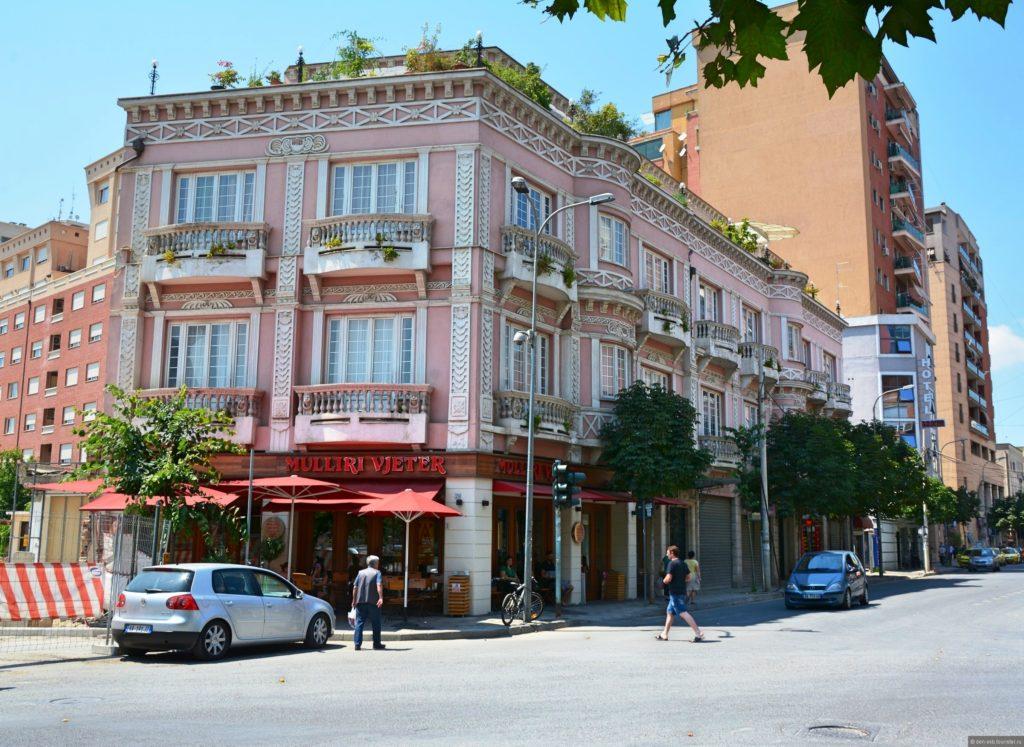 "Tirana - ""City of Colors""."