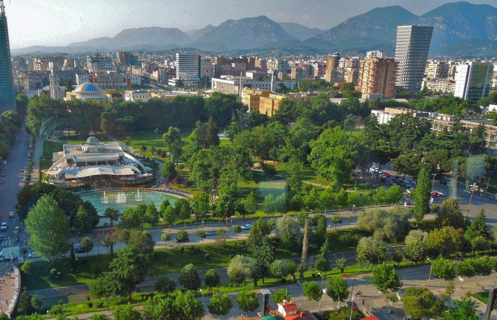 """Area called """"Blloku"""" - Tirana"""