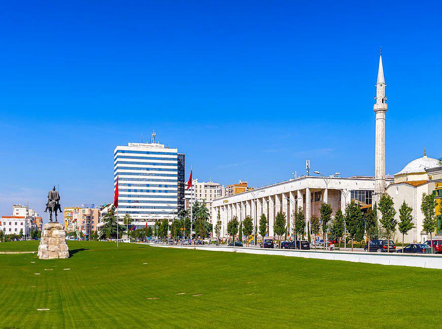 Tirana Hotel International and Opera