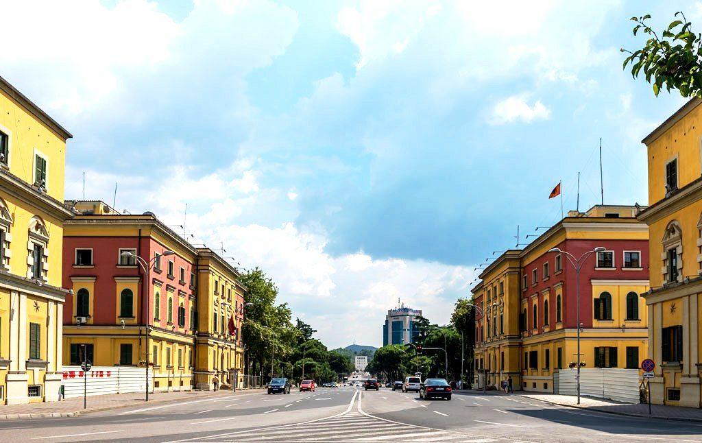 Tirana - Ministry Buildings