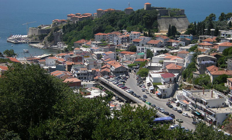 ulcinj city center