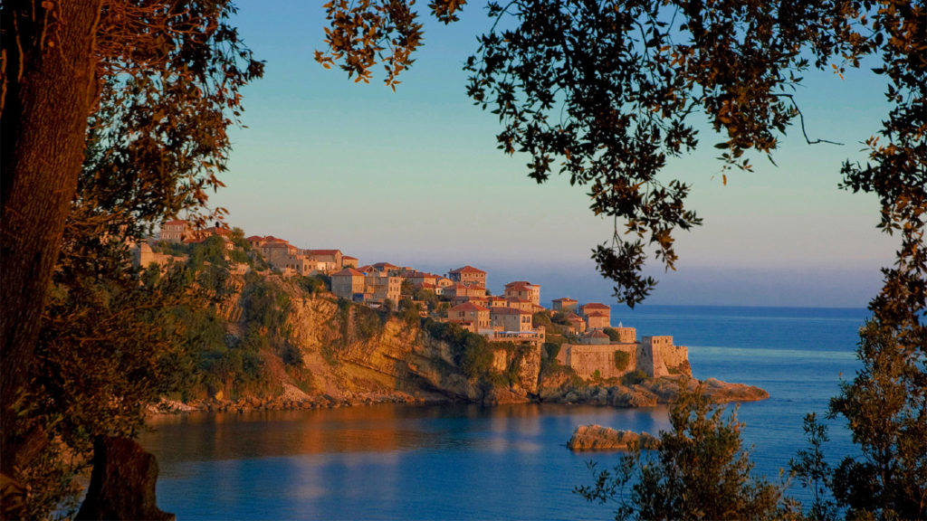 Ulcinj - View on Old Town