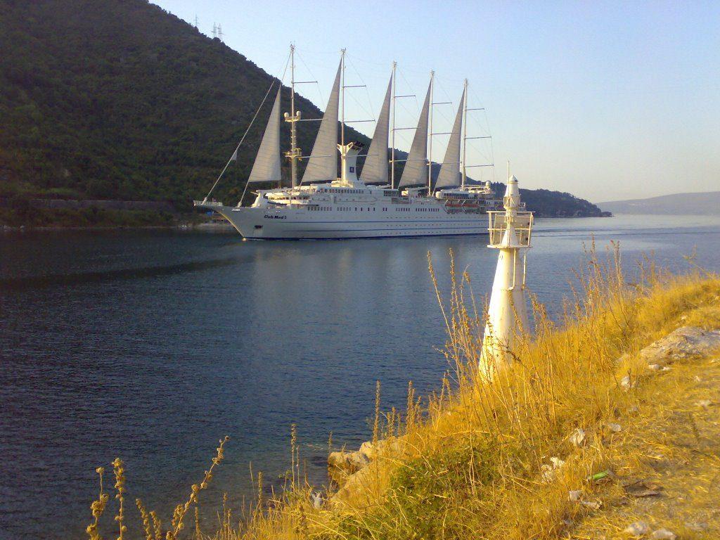 verige strait kotor bay