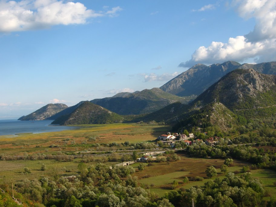 View on Virpazar - Skadar Lake