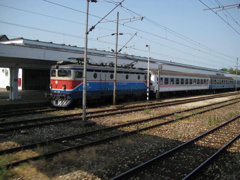 Train Beograd-Zagreb-Zurich