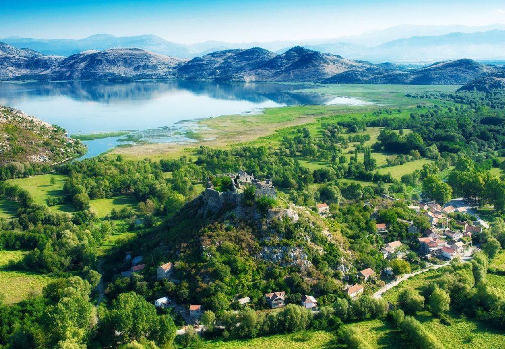 Zabljak Crnojevica Fortress - Skadar Lake