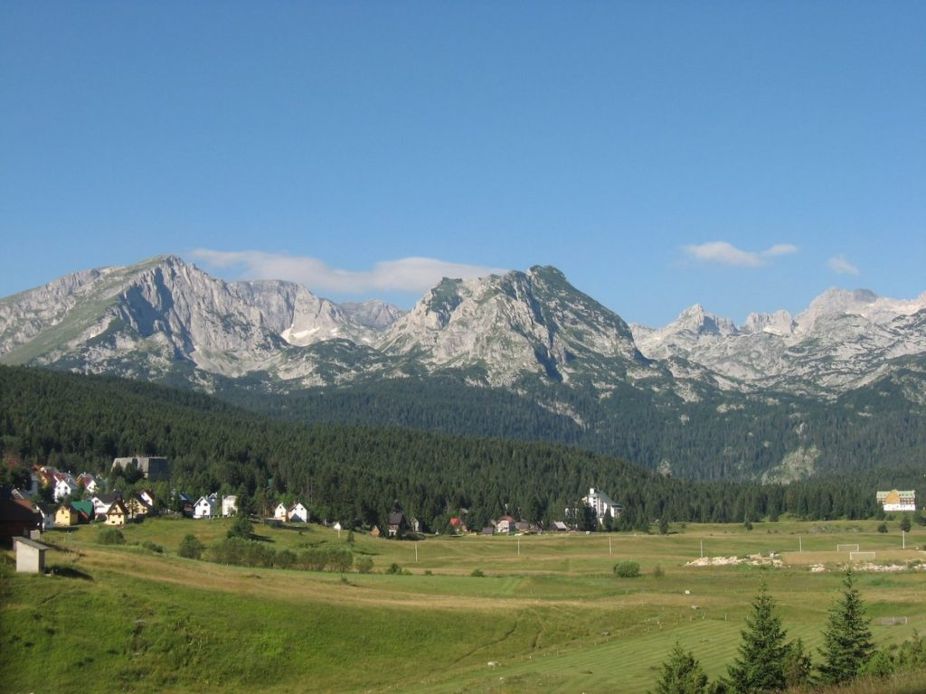 zabljak center of national park durmitor