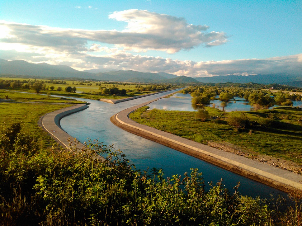 Zeta river - Montenegro