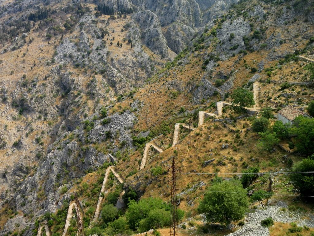 zigzag path from kotor