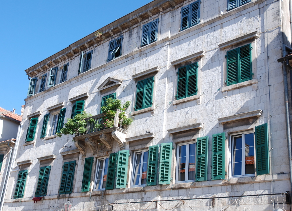 House on Arms Square in Kotor
