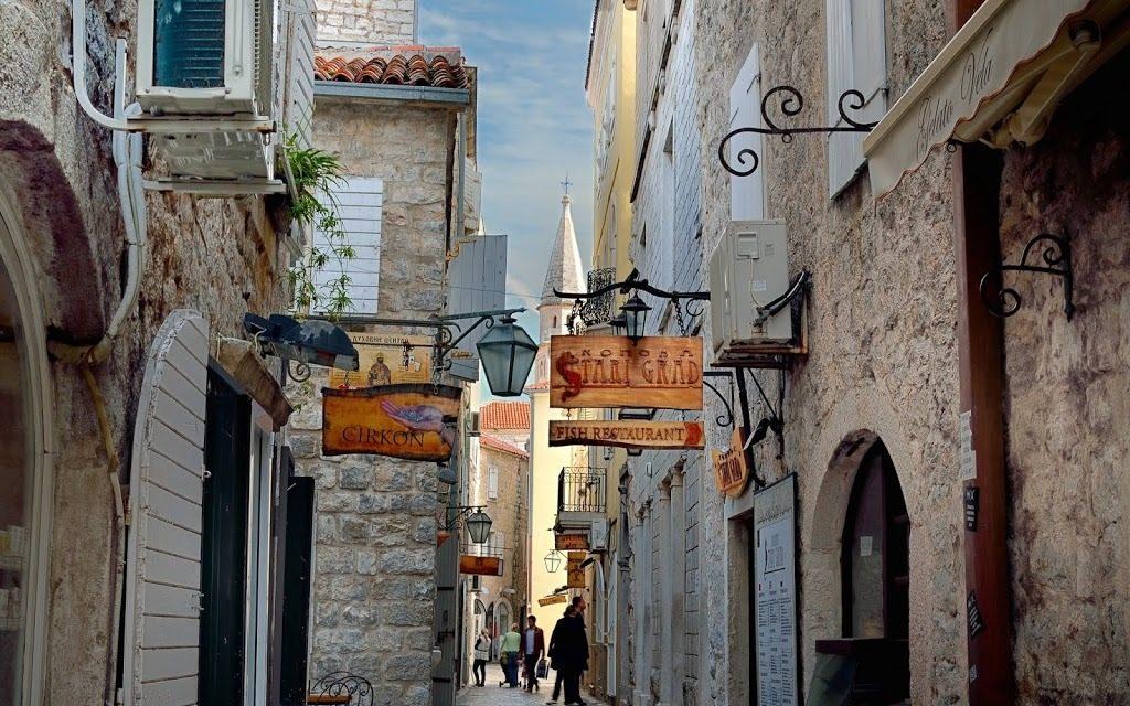 Njegoseva Street - Old Town Budva