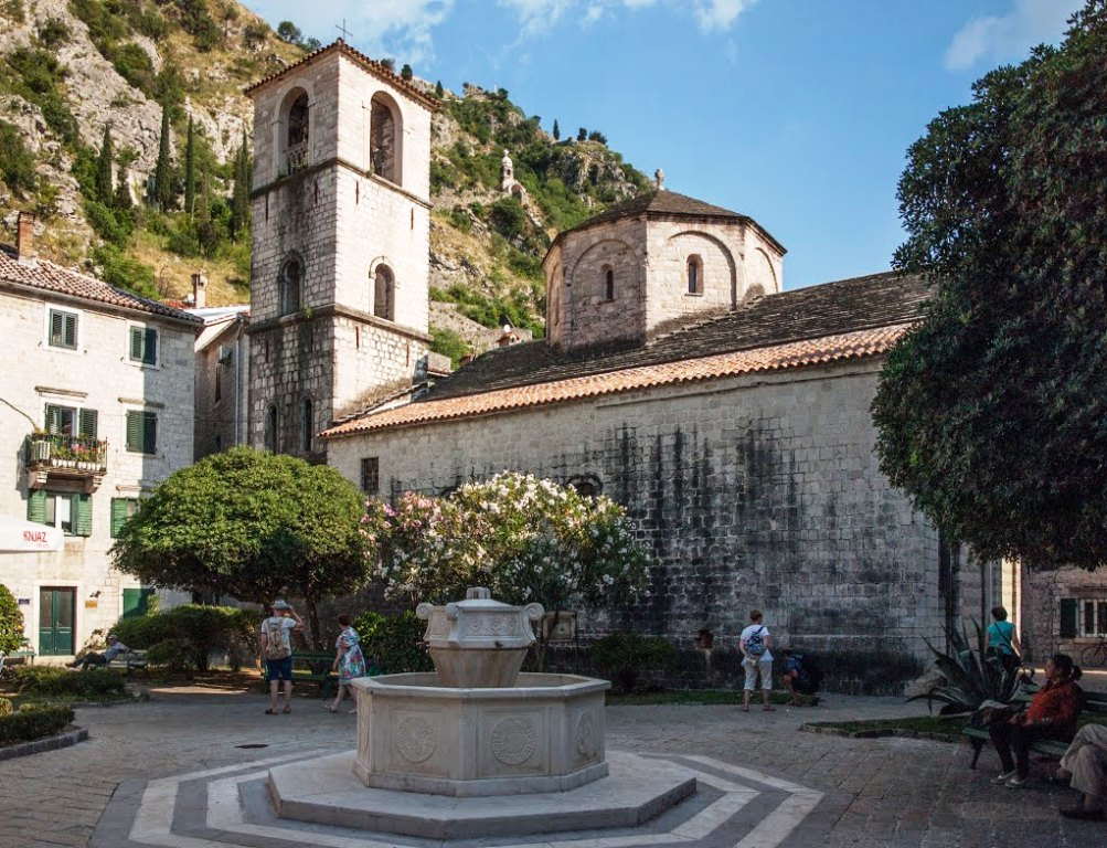 Church of St. Mary Collegiate Kotor