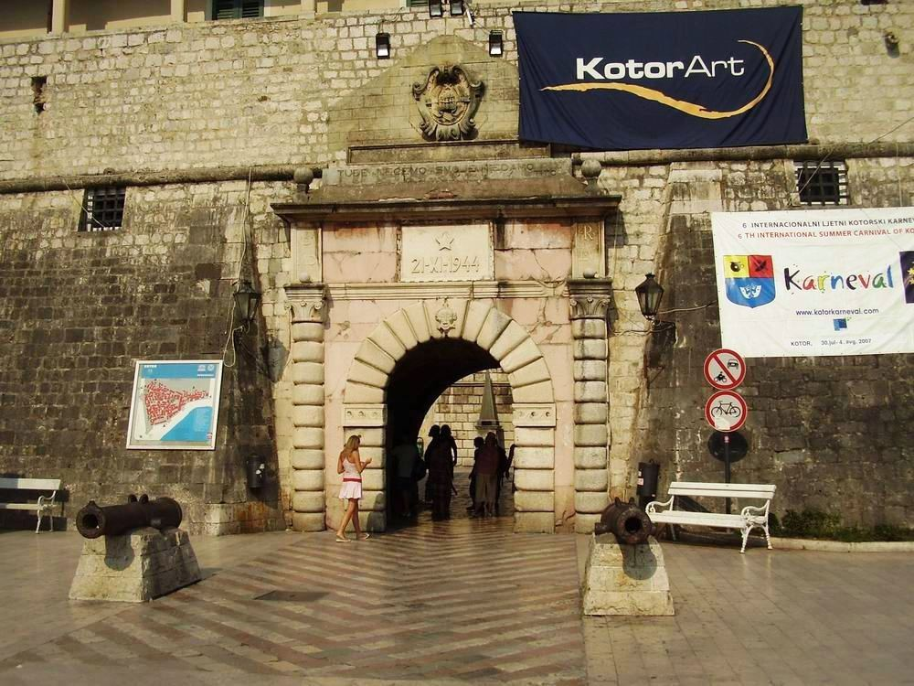 Main Town Gate Kotor