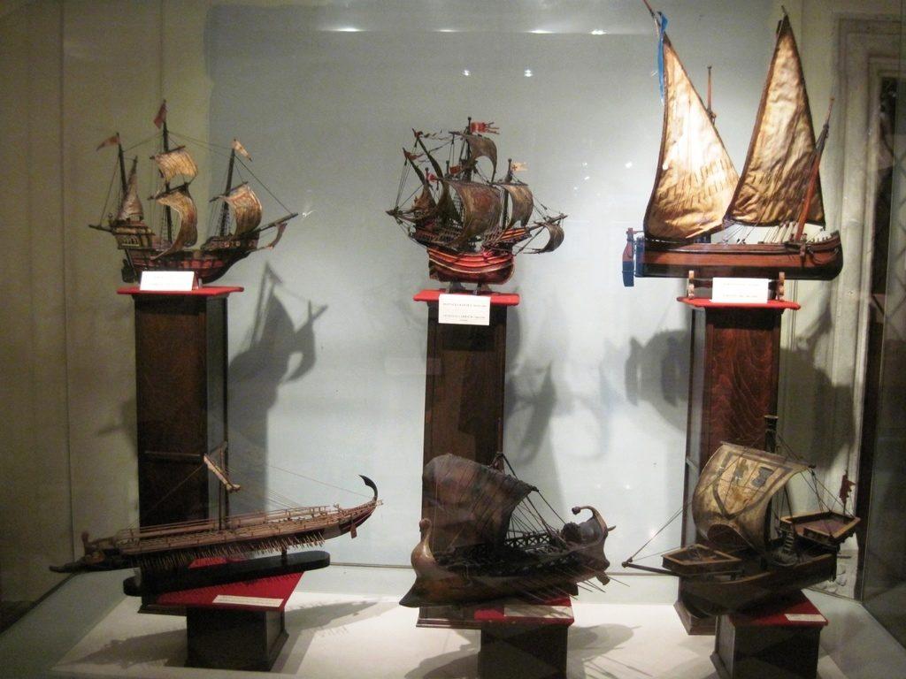 Models of ships - Maritime Museum Kotor