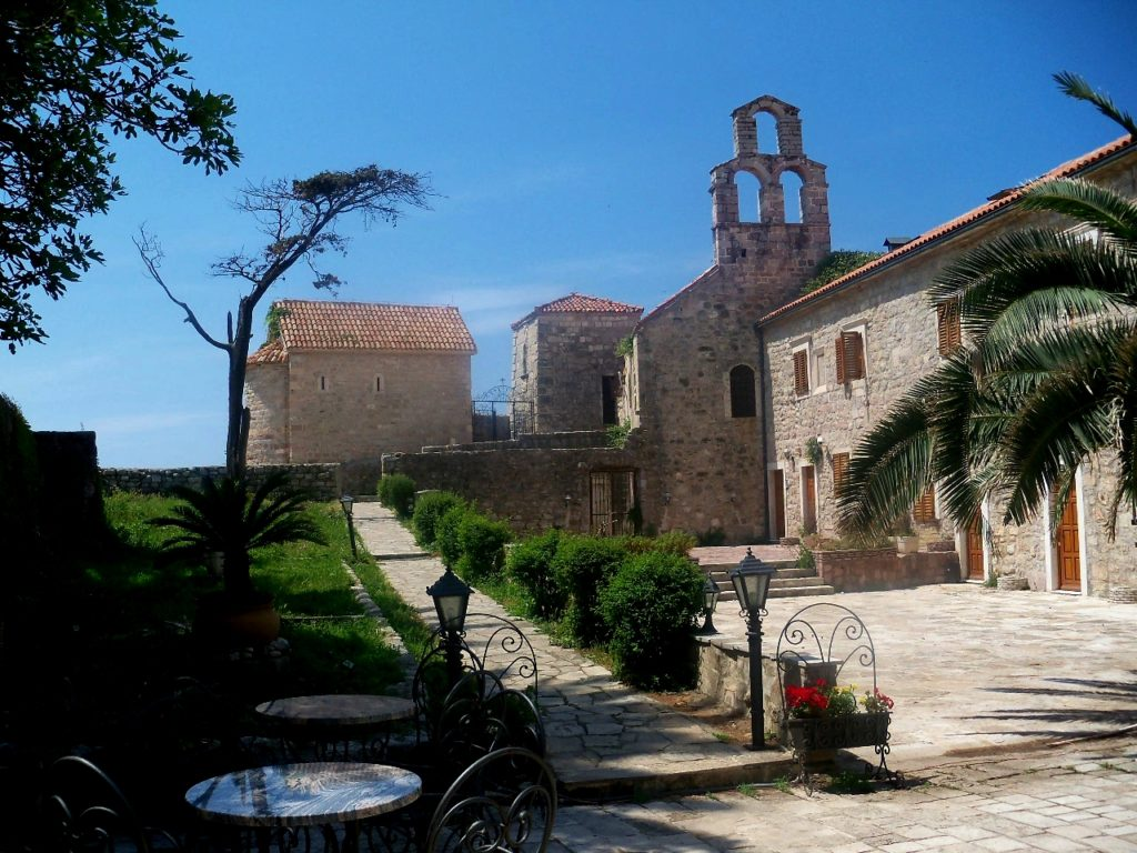 Square of churches in Budva
