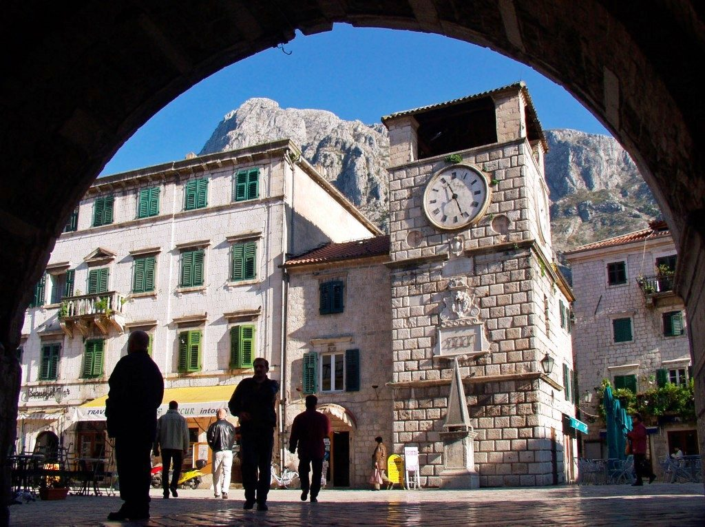 The Town Clock Tower Kotor