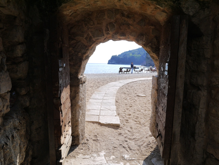 Budva - Entrance in Old Town