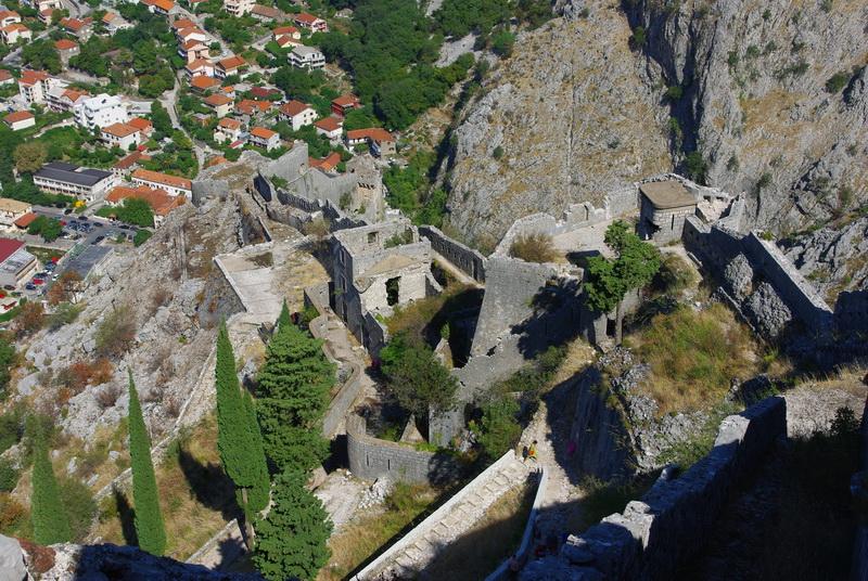 fortress walls San Giovanni kotor