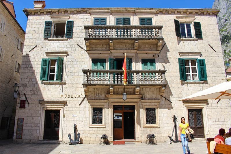 Grgurina Palace - Maritime Museum Kotor