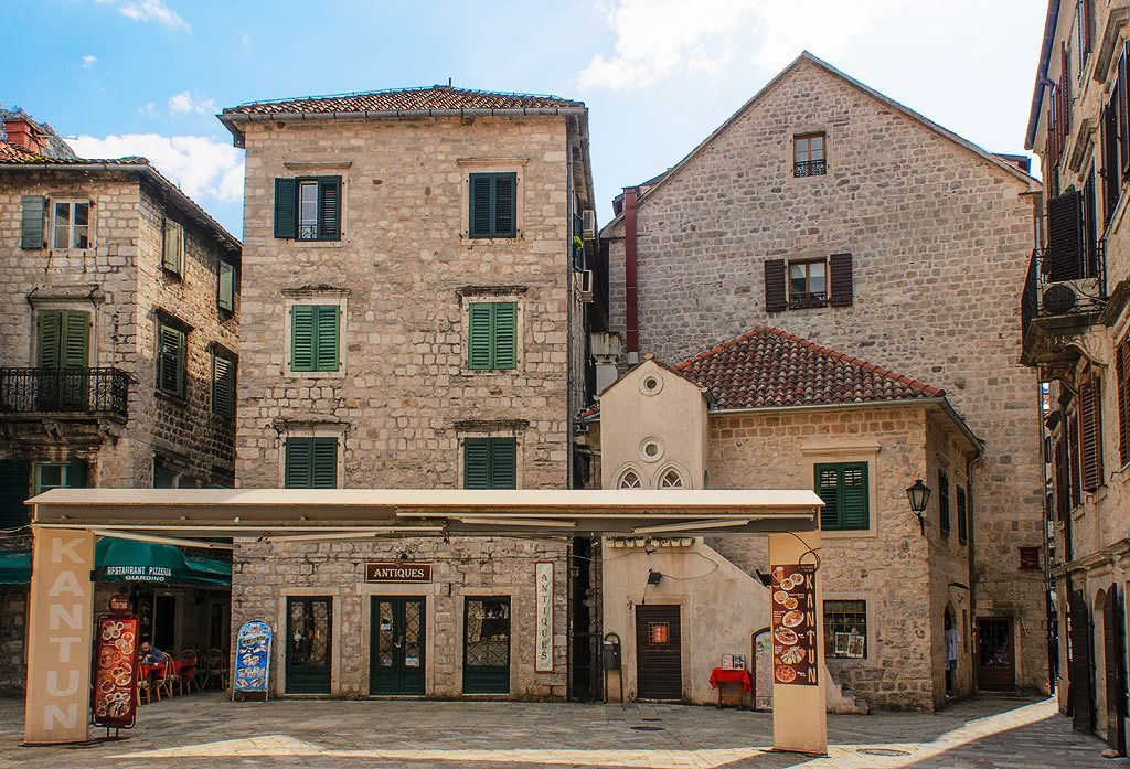 Museum Square in Kotor