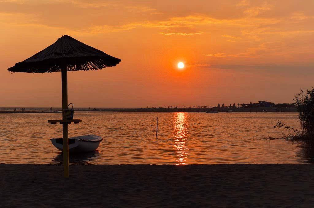 Ada Bojana - Beautiful Sunset