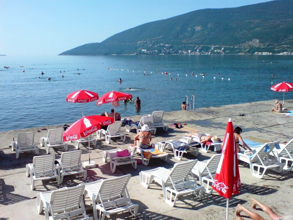 Beach in Herceg Novi