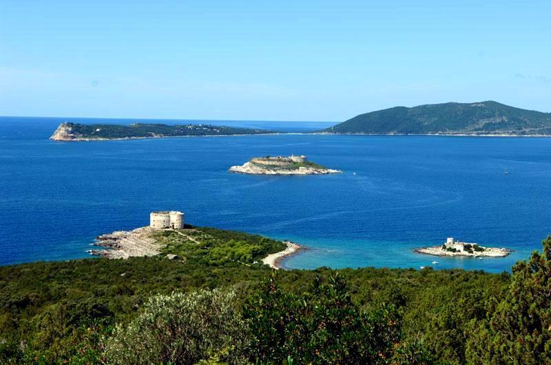 Fortresses Arza, Mamula and Prevlaka