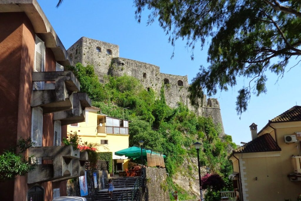 Herceg Novi - Forte Mare, fortress above the town