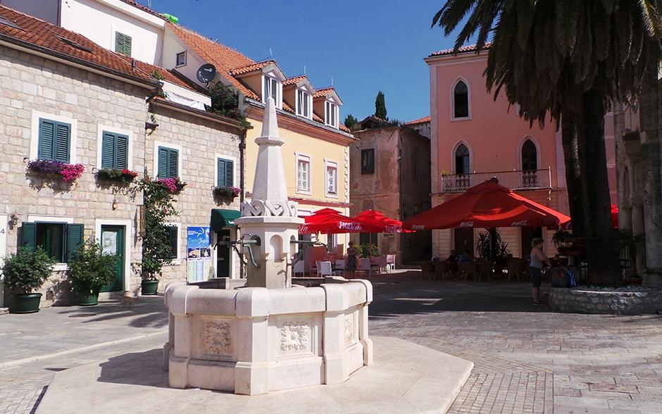 Herceg Novi - Square of Herceg Stjepan
