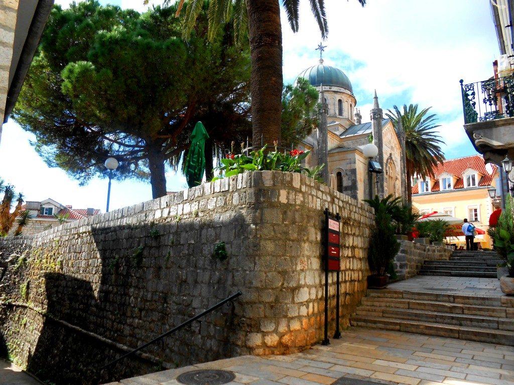 Herceg Novi - Stairs to Kanli Tower