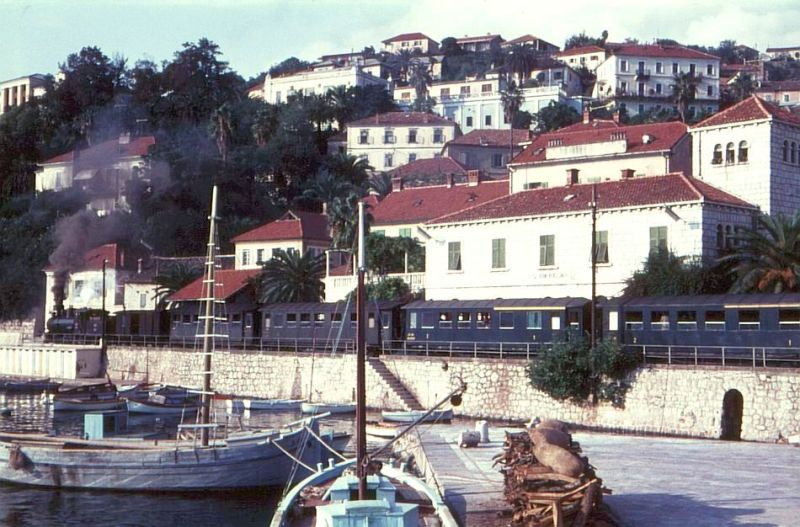 Herceg Novi - The Old Railroad through the city