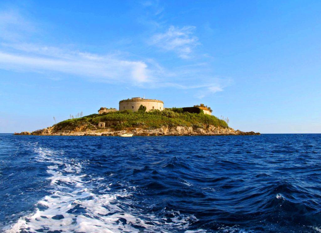 Island - Fortress «Mamula» - Herceg Novi