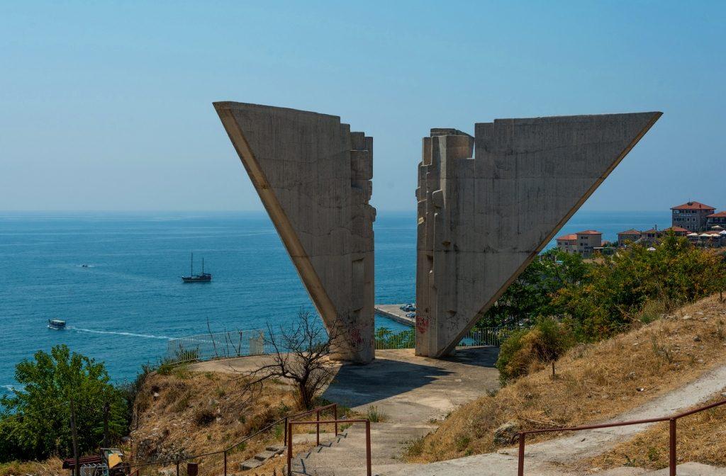 Liberty Monument in Ulcinj