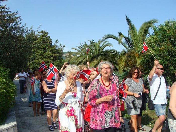 Independence Day of Norway in Igalo