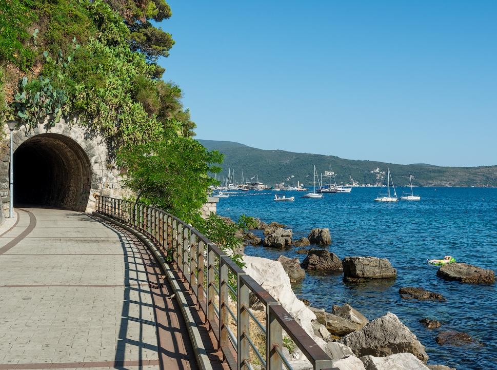 Promenade in Herceg Novi