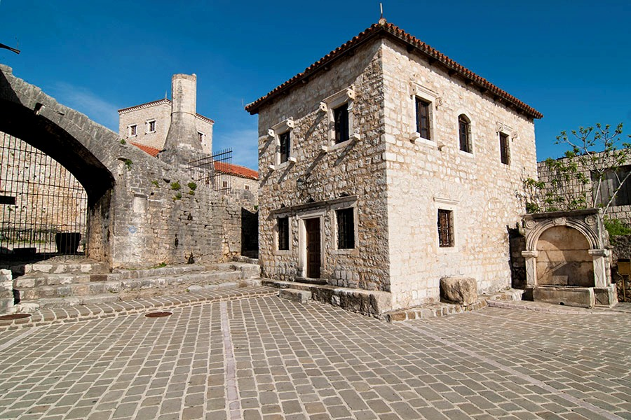 Slaves Square in Ulcinj