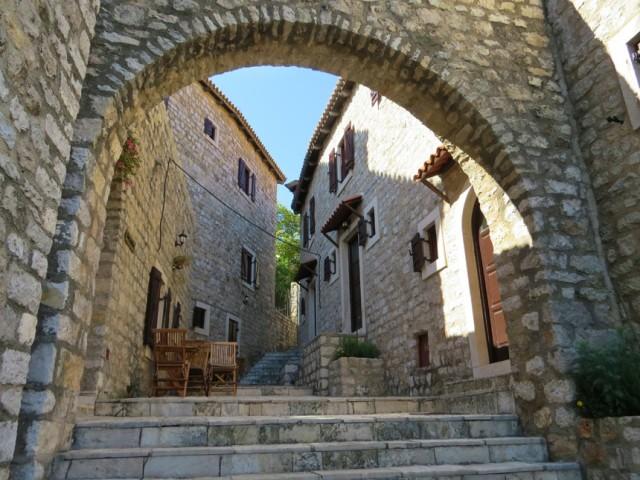 Street in The Old Town of Ulcinj