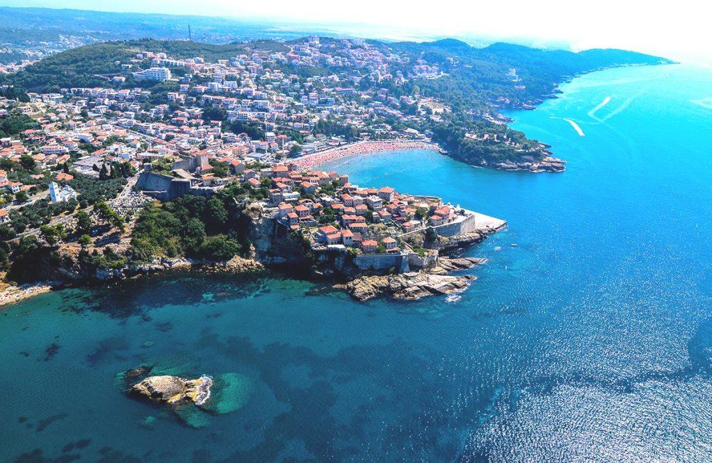 View of Ulcinj - Montenegro