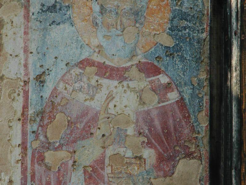 Old Bar - Fresco in Church of St. Nicholas