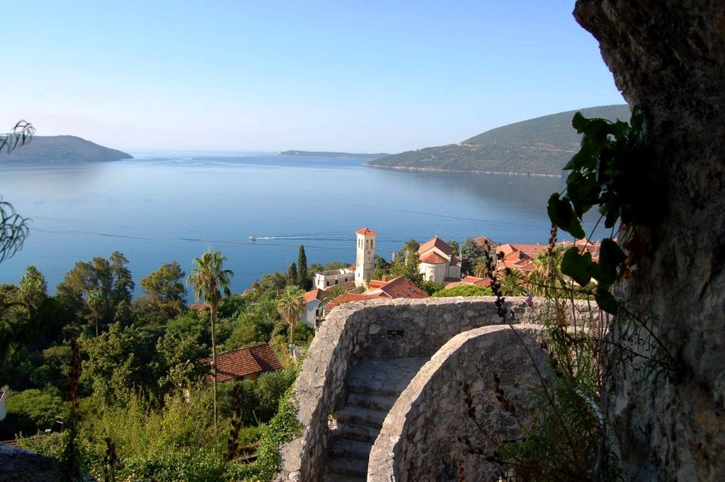 Herceg Novi - Entrance in the Boka Kotorska Bay