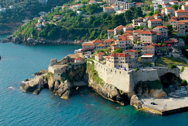 Ulcinj Fortress - Old Town