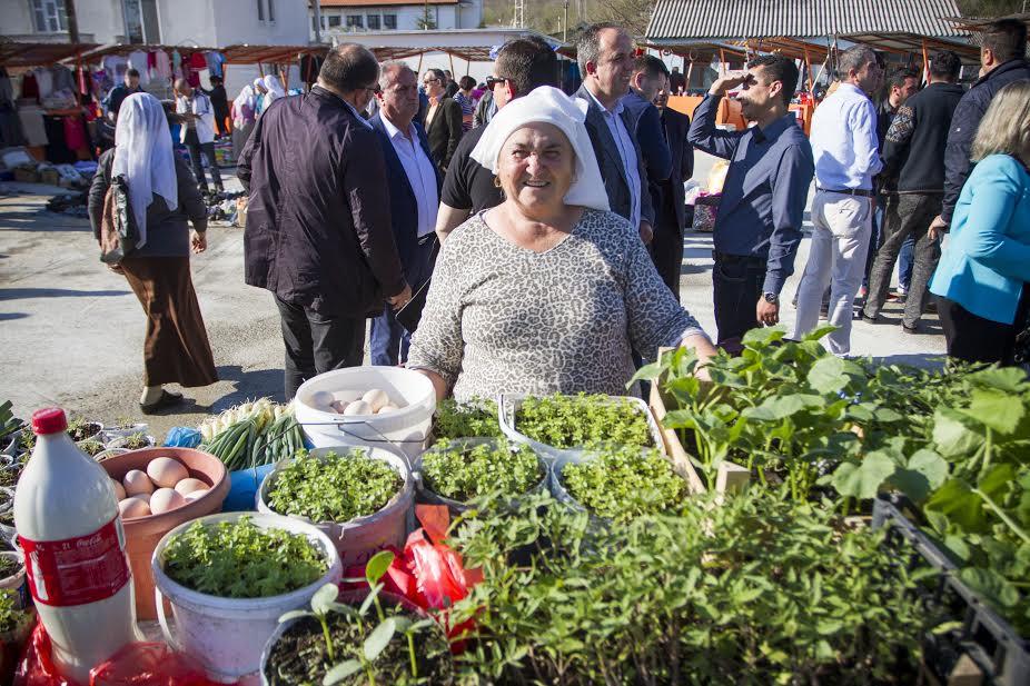 Local product on Ulcinj Market