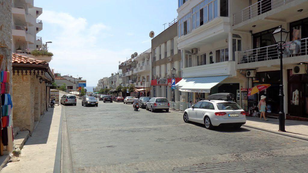 Street in Ulcinj
