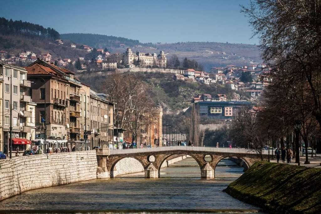 Gavrilo Princip Bridge Sarajevo
